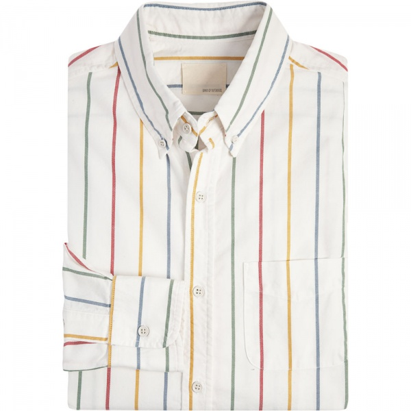 Band of Outsiders Rainbow Stripe Shirt Band of Outsiders Rainbow Stripe Shirt