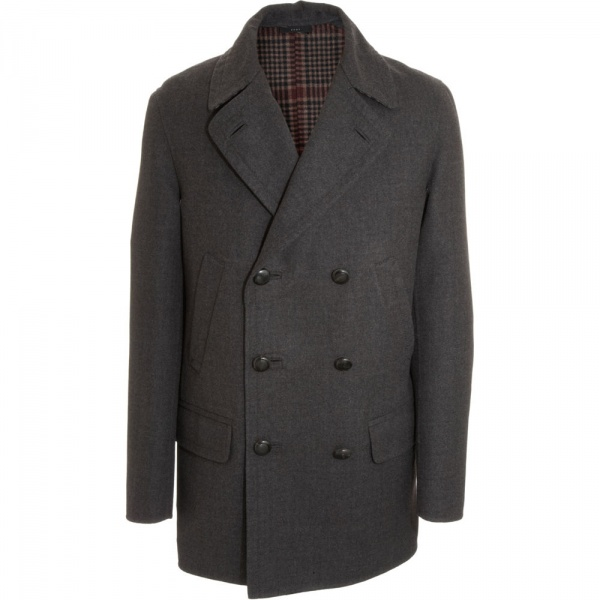 Boglioli Double Breasted Peacoat Boglioli Double Breasted Peacoat