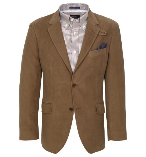 Brown Moleskin Chelsea Jacket by Hackett London 1 Brown Moleskin Chelsea Jacket by Hackett London