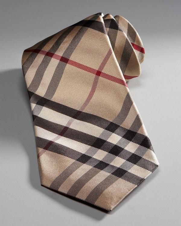 Burberry Haymarket Check Tie Burberry Haymarket Check Tie