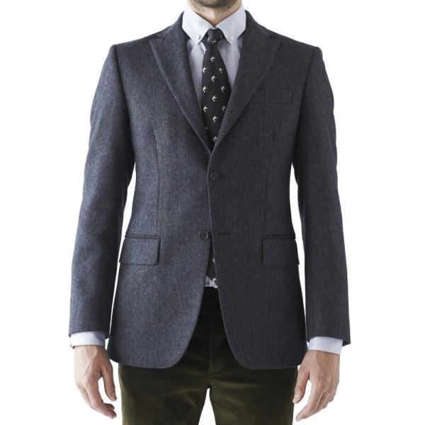 D.S.DUNDEE Alford Herringbone Sportcoat 1 D.S.DUNDEE Alford Herringbone Sportcoat