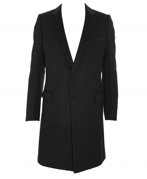 Dior Homme Wool Overcoat 1 Dior Homme Wool Overcoat