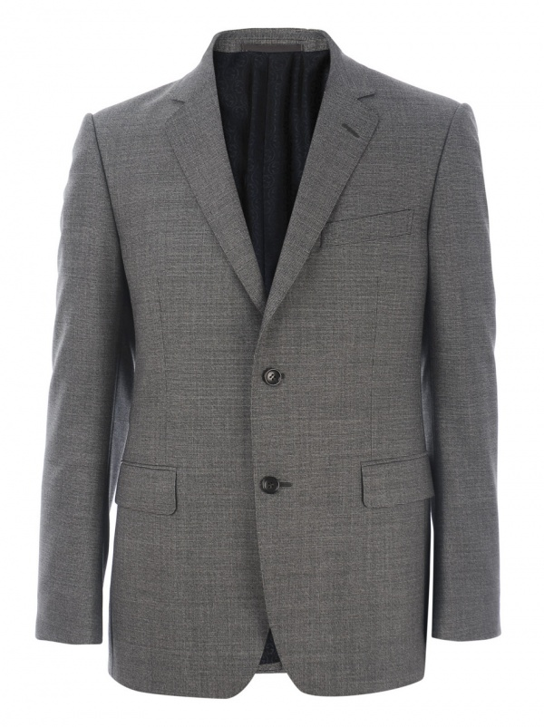 Gucci Micro Weave Grey Suit 1 Gucci Micro Weave Grey Suit