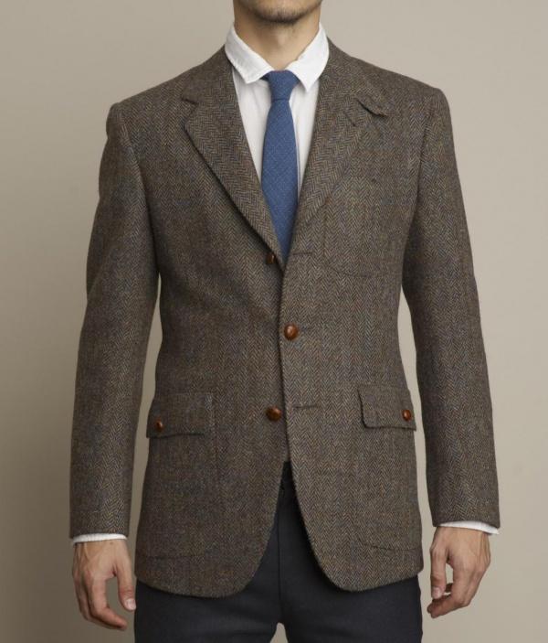 Harris Tweed Sportcoat by Freemans Sporting Club 1 Harris Tweed Sportcoat by Freemans Sporting Club