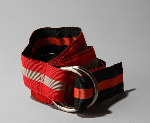J. Press for Urban Outfitters Webbed Stripe Belt 1 J. Press for Urban Outfitters Webbed Stripe Belt