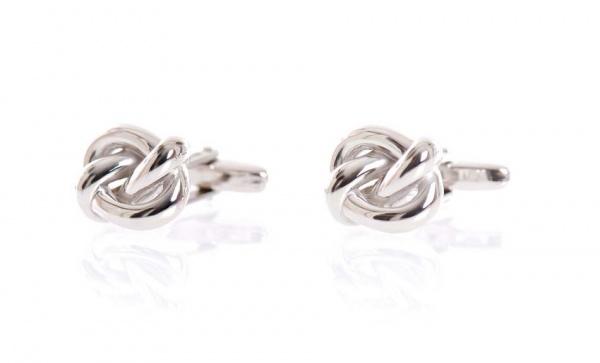 Lanvin Spring 2011 Silver Knot Cufflinks 1 Lanvin Spring 2011 Silver Knot Cufflinks