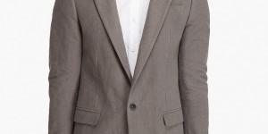 Marc Jacobs Gray Felt Blazer 1