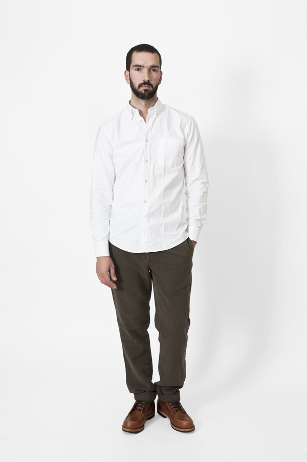 Our Legacy White Oxford Shirt 1 Our Legacy White Oxford Shirt