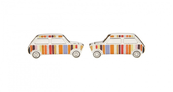 Paul Smith Multi Stripe Car Cufflinks 1 Paul Smith Multi Stripe Car Cufflinks