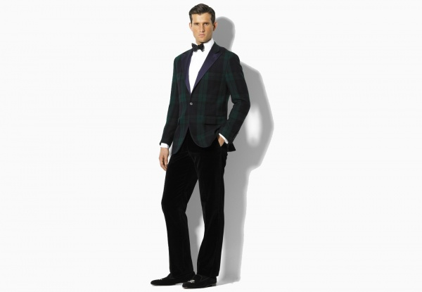 Ralph Lauren Black Watch Dinner Jacket 01 Ralph Lauren Black Watch Dinner Jacket