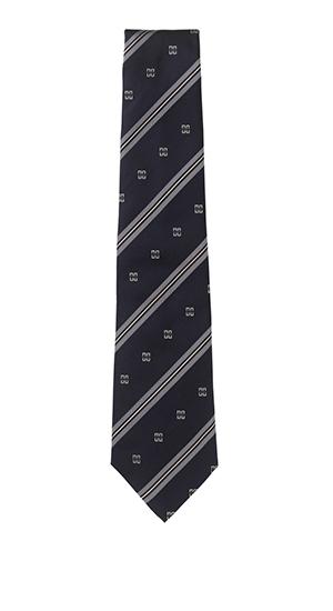 Silk Logo Tie by Daks 1 Silk Logo Tie by Daks