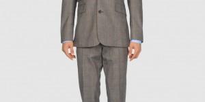 Thierry Mugler Grey Three Button Suit 1