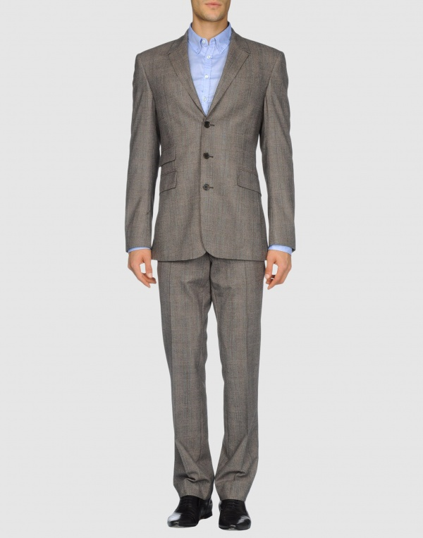 Thierry Mugler Grey Three Button Suit 1 Thierry Mugler Grey Three Button Suit