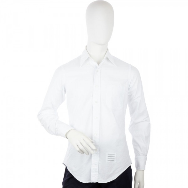 Thom Browne Solid Oxford Shirt Thom Browne Solid Oxford Shirt