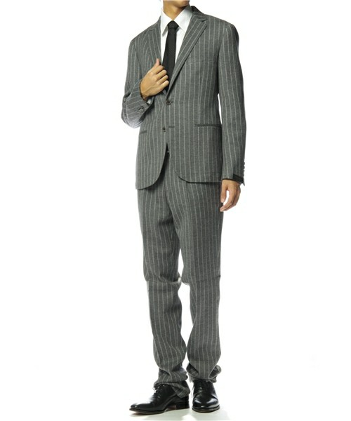 United Arrows Gray Chalk Stripe Suit 1 United Arrows Gray Chalk Stripe Suit