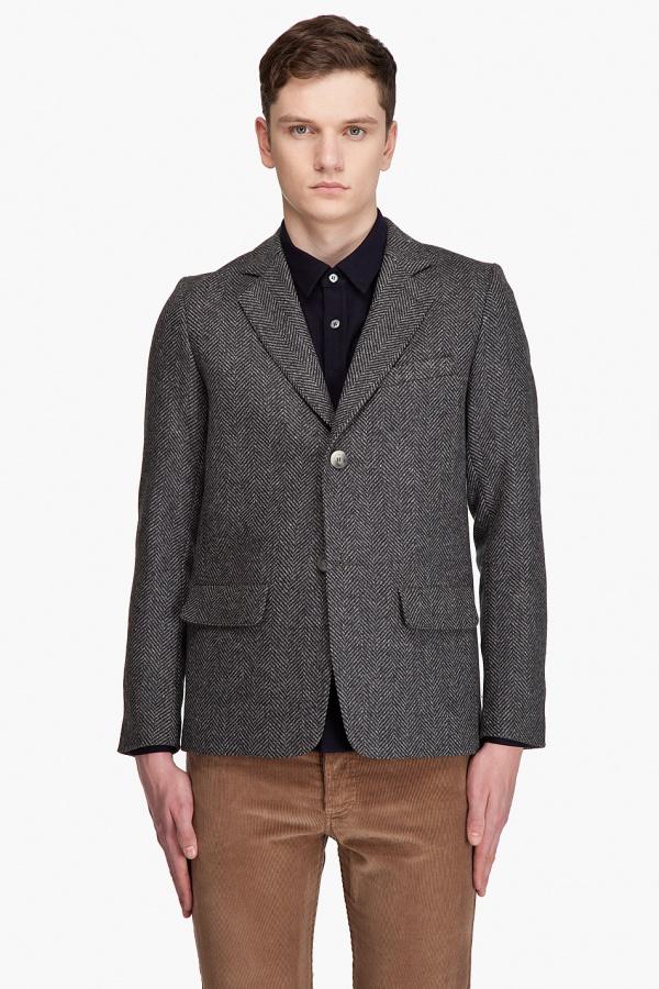 A.P.C. Herringbone Sportcoat 1 A.P.C. Herringbone Sportcoat