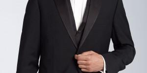 BOSS Black Three Piece Tuxedo 1