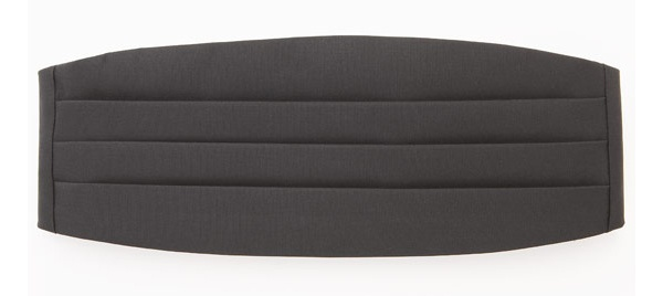 Black Grosgrain Cummerbund from J. Press Black Grosgrain Cummerbund from J. Press