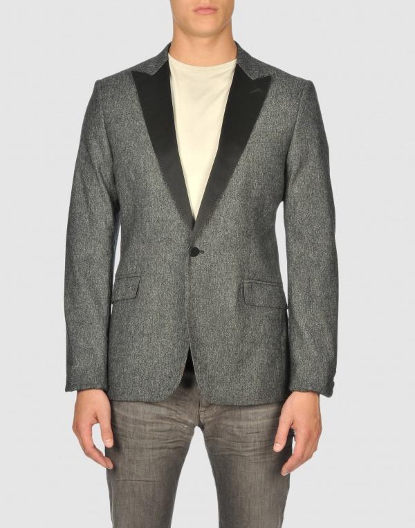 Costume National Homme Grey Dinner Jacket 1 Costume National Homme Grey Dinner Jacket