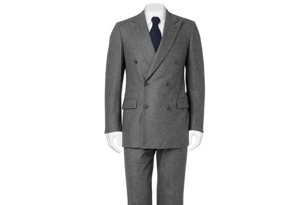 Daks Semi Slim Fit Double Breasted Suit 1 Daks Semi Slim Fit Double Breasted Suit