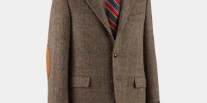 J. Press Harris Tweed Presstige Sack Sportcoat