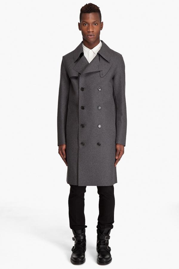 Kris Van Assche Wool Cashmere Coat Kris Van Assche Wool & Cashmere Coat