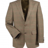 Barbour Brown/Red Two Button Blazer