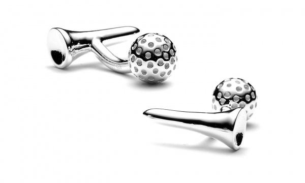 Ravi Ratan Golf Reversible Cufflinks Ravi Ratan Golf Reversible Cufflinks