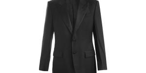 Yves Saint Laurent Wool Tuxedo 01