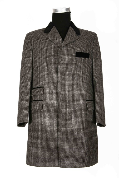 Archer Adams Salt Pepper Tweed Coat 1 Archer Adams Salt & Pepper Tweed Coat