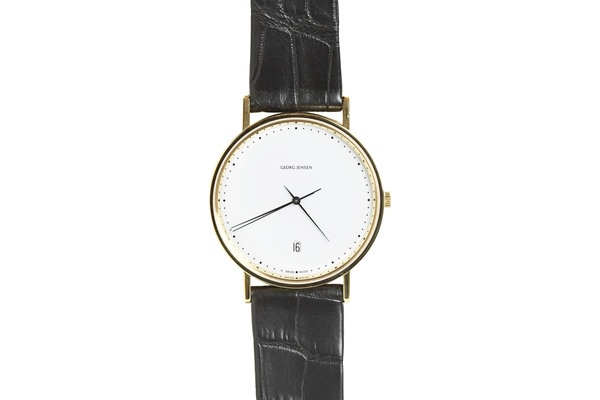 Georg Jensen Henning Koppel Classic Gold Watch Georg Jensen Henning Koppel Classic Gold Watch