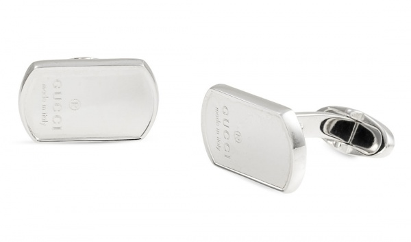 Gucci Dog Tag Cufflinks Gucci Dog Tag Cufflinks