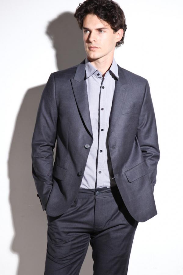 Howe Personal Jesus Suit in Gunmetal Grey 1 Howe Personal Jesus Suit in Gunmetal Grey