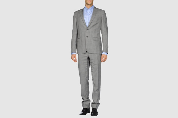 Master Coat Grey Wool Suit Master Coat Grey Wool Suit