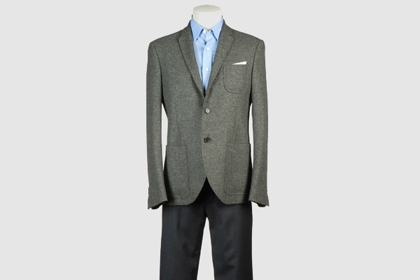 Neil Barrett Grey Wool Sportcoat Neil Barrett Grey Wool Sportcoat