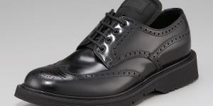 Prada Polished Shortwing Shoe 1