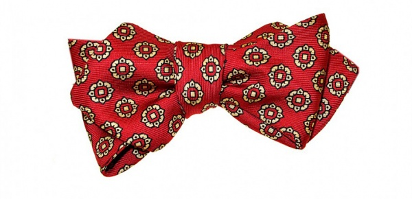 Red English Madder Bow Tie by Drakes of London Red English Madder Bow Tie by Drakes of London