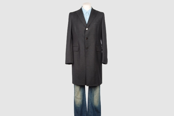 Tonello Grey Flannel Topcoat Tonello Grey Flannel Topcoat