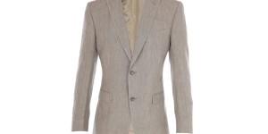 Zegna Z Taupe Linen Suit 1