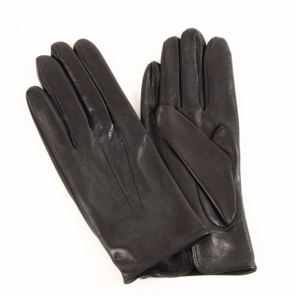 Black Hairsheep Leather Gloves by Dents