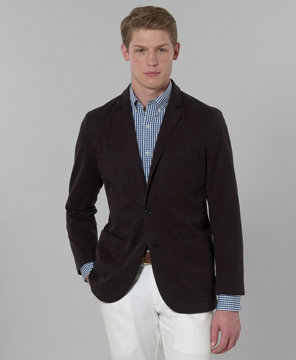 Brooks Brothers Garment Dyed Unlined Sport Jacket Brooks Brothers Garment Dyed Unlined Sport Jacket