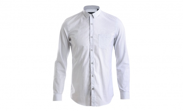 Burberry Prorsum Fine Stripe Cotton Shirt 1 Burberry Prorsum Fine Stripe Cotton Shirt