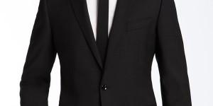 Dolce & Gabbana Black Stretch Suit