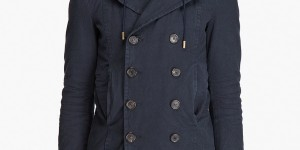 Dsquared2 Hooded Peacoat