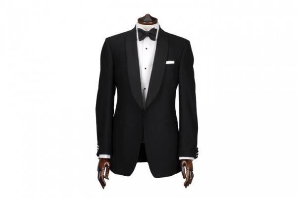 Ede Ravenscroft Black Shawl Collar Dinner Jacket Ede & Ravenscroft Black Shawl Collar Dinner Jacket