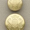 Gold Hart Schaffner Marx Crest Button Set
