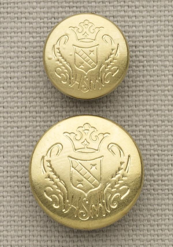 Gold Hart Schaffner Marx Crest Button Set Gold Hart Schaffner Marx Crest Button Set