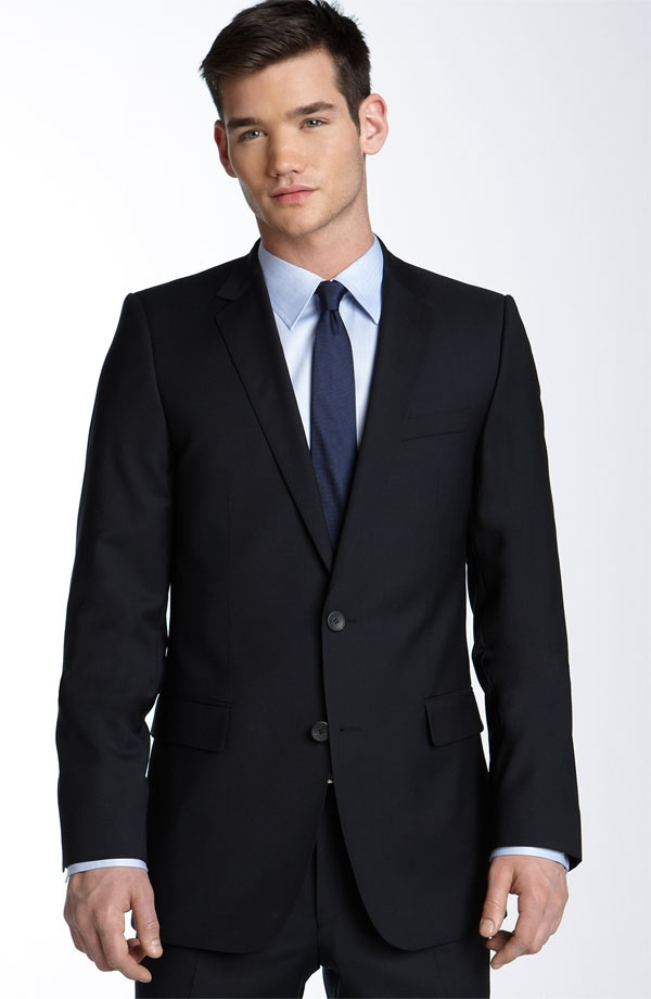HUGO Aikonen Navy Wool Suit HUGO Aikonen Navy Wool Suit