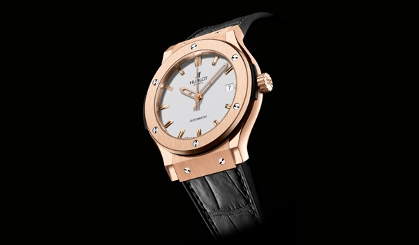 Hublot Classic Fusion Opaline Dial Gold 45 mm Hublot Classic Fusion Opaline Dial Gold 45 mm