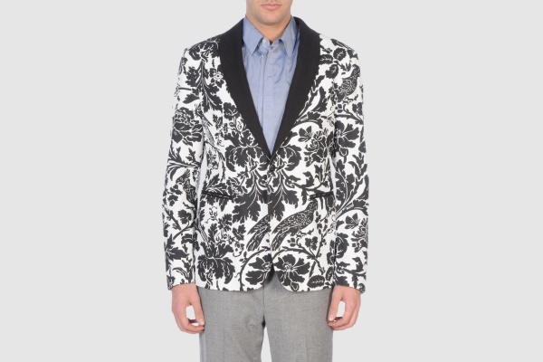 John Varvatos Floral Evening Jacket John Varvatos Floral Evening Jacket